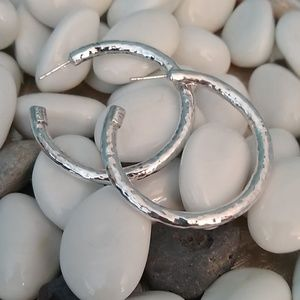Ippolita 925 hammer earrings